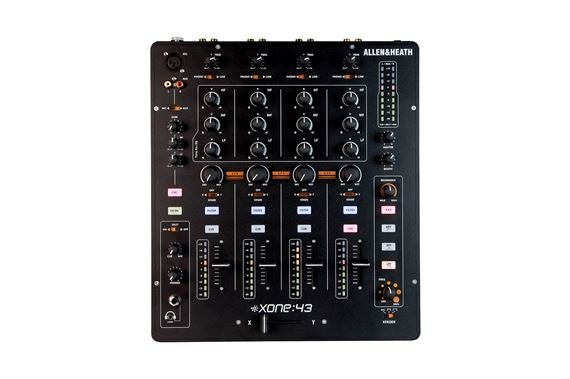 Allen and Heath Xone 43 Professional DJ Mixer
