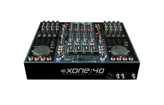 Allen and Heath Xone 4D USB Audio Interface and DJ Controller