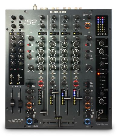 Allen and Heath Xone 92 Pro 6 Channel DJ Mixer