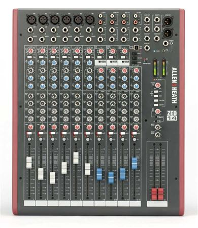 Allen & Heath ZED14 14 Channel Multipurpose Mixer With USB