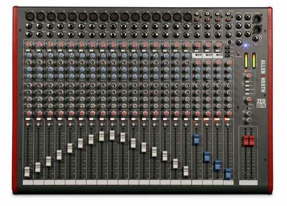 Allen & Heath ZED24 24 Channel Multipurpose Mixer With USB