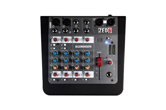 Allen And Heath Zed-6 Compact 6-Channel Analogue Mixer
