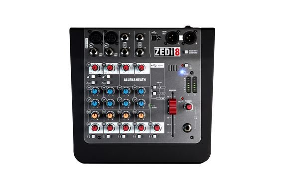 Allen And Heath Zed-i8 Compact 6-Channel USB Mixer With DI