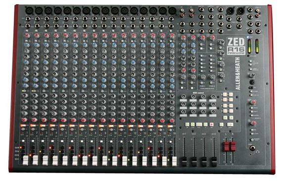 Allen & Heath ZEDR16 16 Channel 4 Bus Firewire Recording Mixer