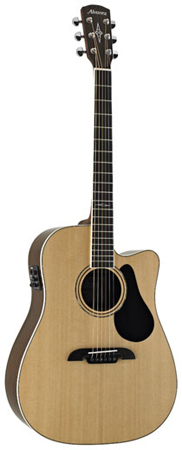 Alvarez AD70CE Dreadnought Acoustic Electric Cutaway Guitar