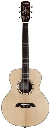 Alvarez LJ2 Little Jumbo Acoustic Electric Travel Guitar with Gigbag