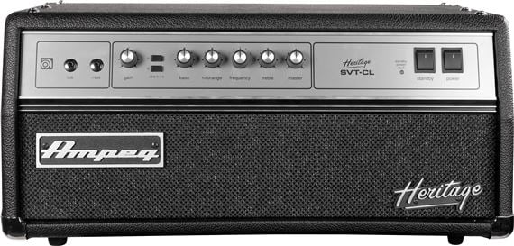 Ampeg Heritage SVTCL Bass Guitar Amplifier Head