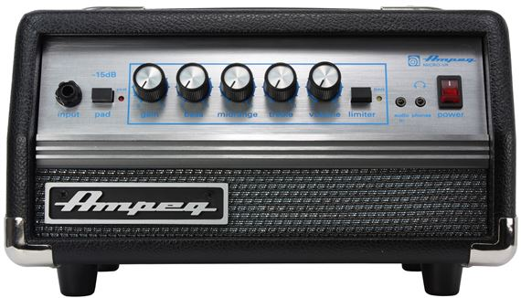 Ampeg MicroVR Bass Guitar Amplifier Head