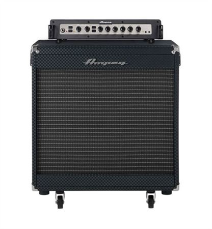 Ampeg Portaflex PF800 Head and PF115HE Cab Bass Amp Stack