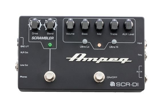 Ampeg SCRDI Bass DI Box with Scrambler Overdrive