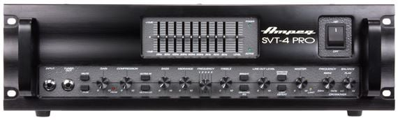 Ampeg SVT4PRO Bass Guitar Amplifier Head