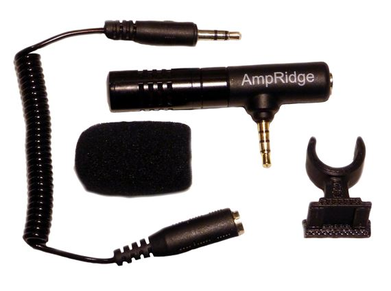 AmpRidge MightyMic SLR Shotgun DSLR Video Microphone