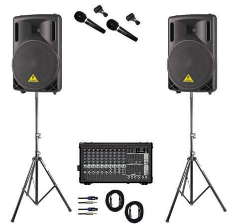 AMS Behringer Center Stage Portable PA Systems