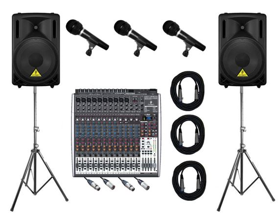 AMS Behringer Legacy Portable PA Systems