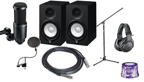 AMS Session Pack Recording Accessories Package