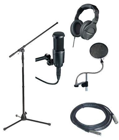 AMS Songwriter Pack Recording Accessories Package