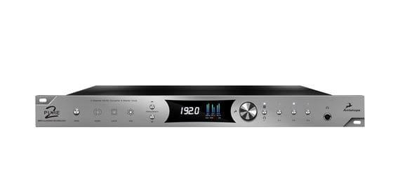 Antelope Audio Pure 2 Mastering AD/DA Converter and Clock