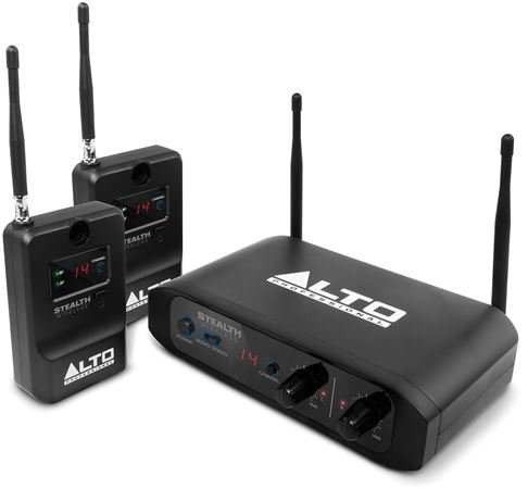 Alto Professional Stealth Stereo Wireless System for Active Speakers