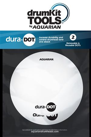 Aquarian DuraDot Reusable Drum Head Tone Modifier