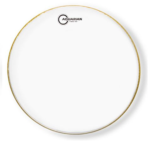 Aquarian Force Ten Clear 2 Ply Drum Heads