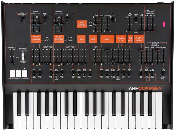 Korg Arp Odyssey Analog Synthesizer with Case
