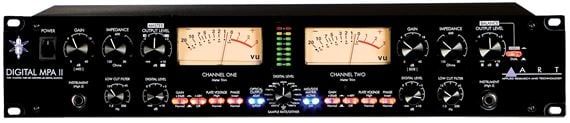 ART Digital MPAII 2 Channel Microphone Preamp With Digital Output