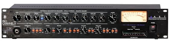 ART ProChannelII Tube Microphone Preamp Channel Strip With EQ/Comp