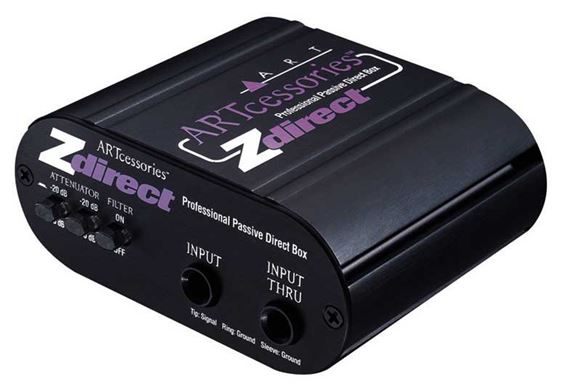 ART ZDirect Professional Passive Direct Box