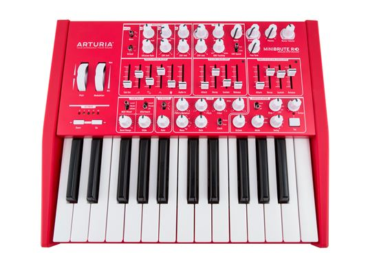 Arturia Minibrute Analog Synthesizer in Red
