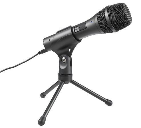 Audio Technica AT2005USB Cardioid Dynamic Handheld USB Microphone