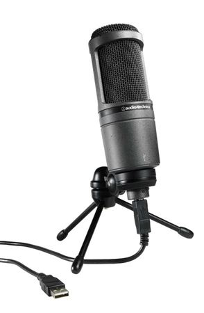 Audio-Technica AT2020USB Cardioid Large Diaphragm Condenser USB Mic
