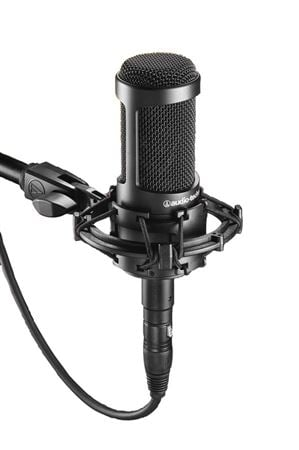Audio Technica AT2035 Cardioid Large Diaphragm Condenser Microphone