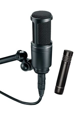 Audio Technica AT2041SP Studio Condenser Microphone Package