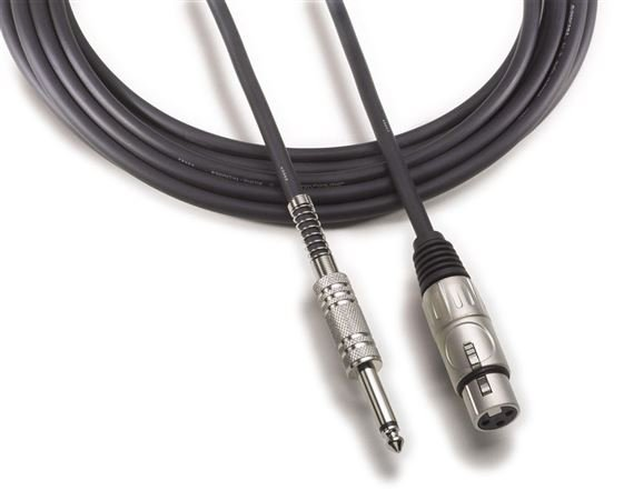 "Audio-Technica AT8311 Value Microphone Cable XLRF To 1/4"" Phono"