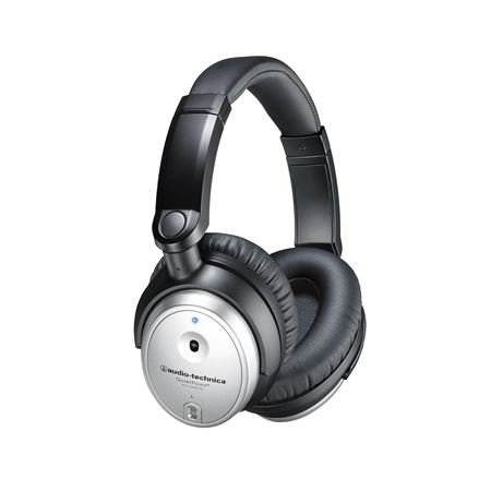 Audio-Technica ATHANC7B-SVIS Active Noise Cancelling Headphones