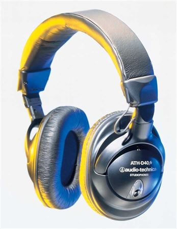 Audio-Technica ATHD40fs Precision Enhanced Bass Headphones