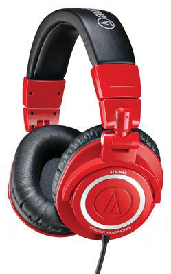 Audio-Technica ATHM50 Studio Monitor Headphones