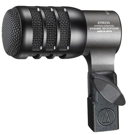 Audio Technica ATM230 Hypercardioid Dynamic Instrument Microphone
