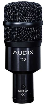 Audix D2 Dynamic Hypercardioid Drum And Instrument Microphone