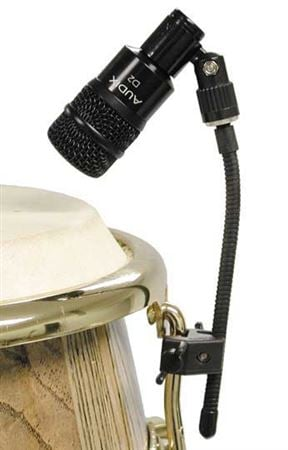 Audix DClamp Flexible Mini Gooseneck Mic Clip For Drums