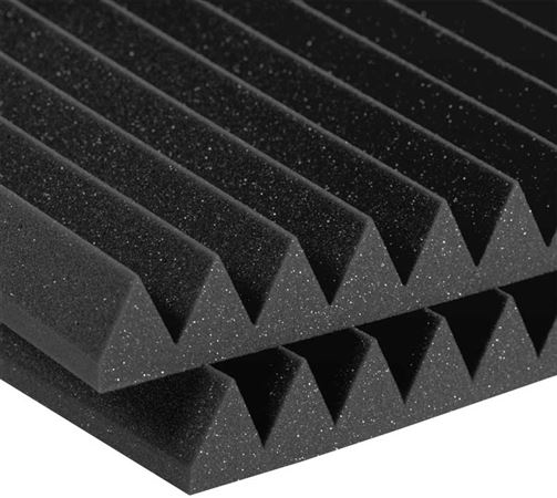 "Auralex 2 Inch Studiofoam Wedgies 12""x12"" Acoustic Foam Tiles"