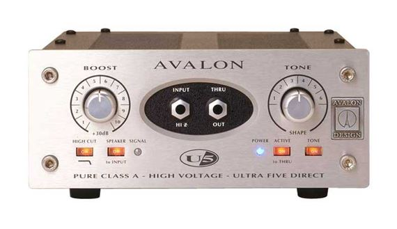 Avalon Design U5 Mono Instrument And DI Preamplifier