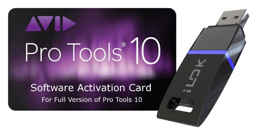 Avid Pro Tools 10 Software Activation Card with iLok