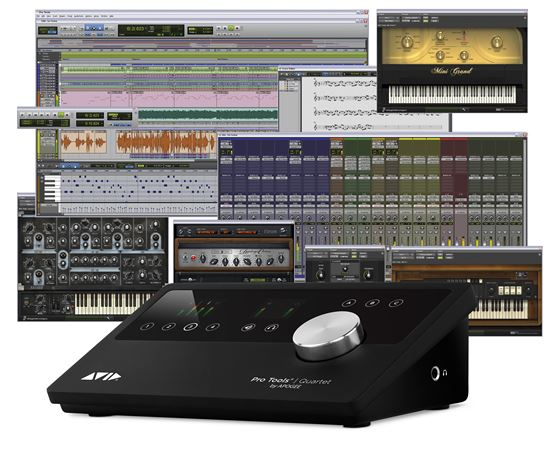 Avid Pro Tools and Apogee Quartet USB Interface Bundle