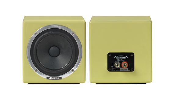 Avantone Pro MixCubes Full Range Passive Mini Reference Monitors Pair