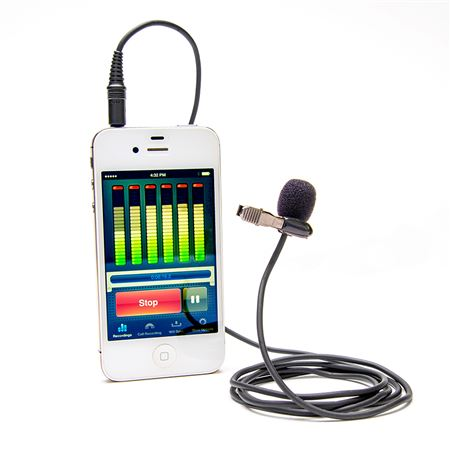 Azden EX-503i Pro Lapel Mic for Smartphones And Tablets