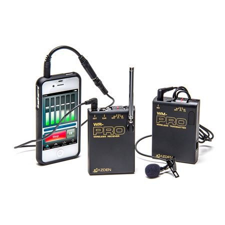 Azden WLX-PRO i Lapel Wireless Mic System for Smart Phones