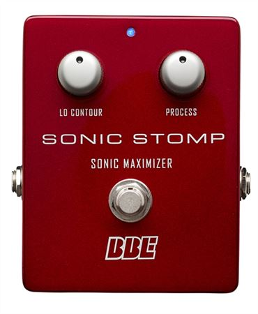 BBE SonicStomp Sonic Maximizer Guitar Pedal