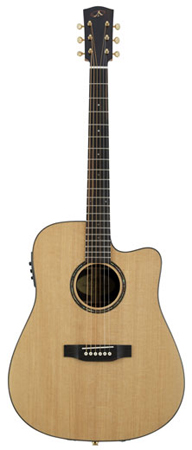 Bedell BSDCE28G Encore Series Dreadnought Acoustic Electric Guitar with Gigbag
