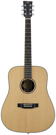 Bedell HGD-28-G Heritage Dreadnought Acoustic Guitar with Gigbag